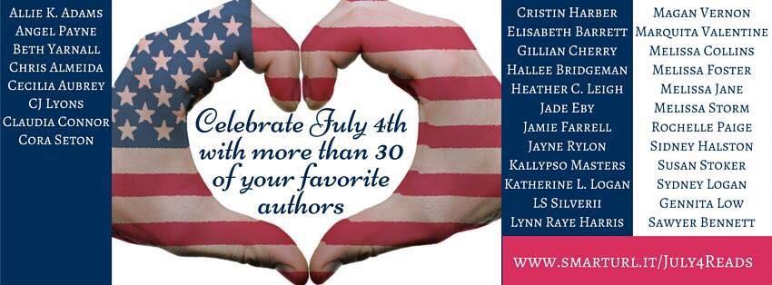 July 4 FB hop Club Indie authors